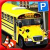 play School Bus Impossible Parking 3D Real Driving Test