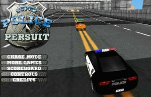 Police Pursult 3D game