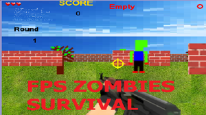 Fps Zombies Survival game