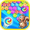 play Squirrel Bubble Shooter Deluxe-Free Bubbles