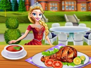 play Princesses Grill Party