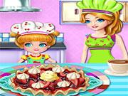 Little Chef Cooking With Mommy game