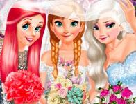 play Bride And Bridesmaides Dress Up
