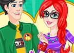 play Ariel And Eric High School Love