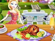 Princesses Grill Party game