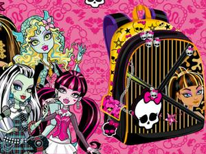 play Design Your Monster High Backpack