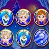 Frozen Memory game