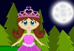 Princess Lilly Dark Forest Escape game