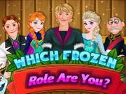 play Which Frozen Role Are You