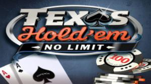 Poker: Texas Hold'Em (No Limit) game