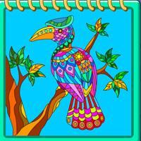play Animal Mandala Coloring Book