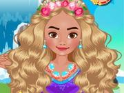 play Princess Moana Dress Up