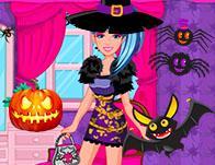 play Barbie Monster High Halloween