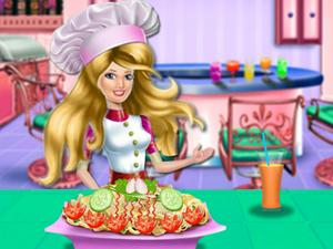 play Princess Cooking Chicken Pasta