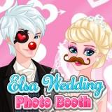 Elsa Wedding Photo Booth game