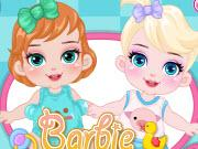 Barbie Disney Babysitter game