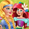 Prank The Nanny With Baby Ariel game