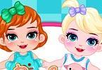 play Barbie Disney Babysitter