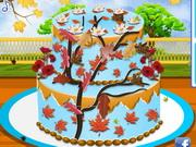 Autumn Wedding Cake game