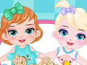 Barbie Disney Babysitter game