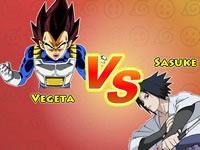 play Dragon Ball Vs Naruto Cr - Vegeta