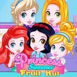 Princess Summer Fruit Hut game