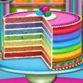 Rainbow Cake game