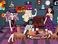 Ever After High Halloween Party game
