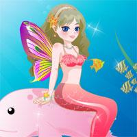 The Mermaid Princess Dress Up game