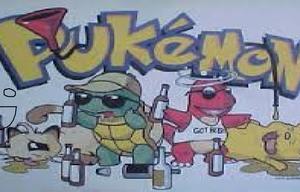 Pukemon Bad Bursion game