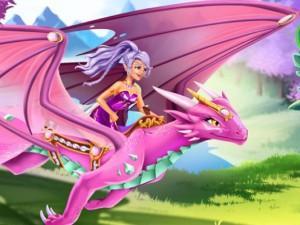 Lego Elves Dragon Care game