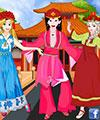 play Princesses Chinese Folk Dance