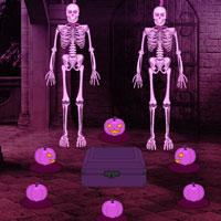 play Halloween Castle Pumpkin Escape