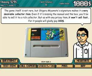 Vintage Game Shop game