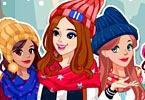 Winter Top Model Dress Up game