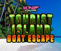 Tourist Island Boat Escape game