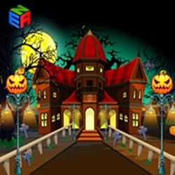 Halloween Tough Path Ahead game
