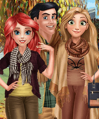 Couples Autumn Outfits Dress Up game