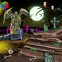 Halloween Creepy Cemetery Escape game