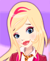 Regal Academy Rose Cinderella Dress Up game
