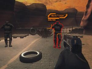 Desert Claw Rising game