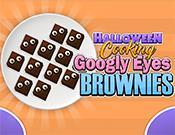 Halloween Cooking Googly Eyes Brownies game