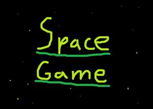 Spacegame game