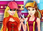 Belle And Rapunzel Mechanics game