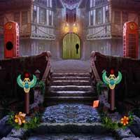 Halloween Castle Escape game