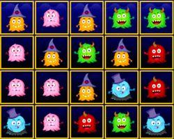 Halloween Monster Match game
