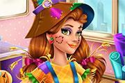 Victoria'S Halloween Scarecrow Costume game