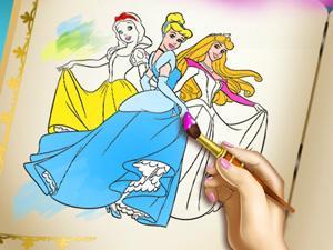 Princesses Coloring Book game