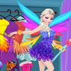 Enjoy Elisa Fairy Dress game
