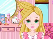 Barbie Hair Design game